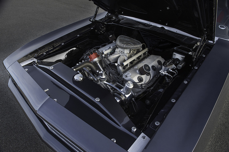 Hemi Cuda by Porsager engine